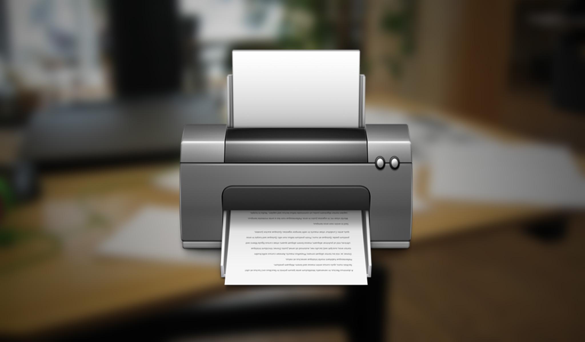 9 функций по настройке принтеров в OS X, которые должен знать каждый