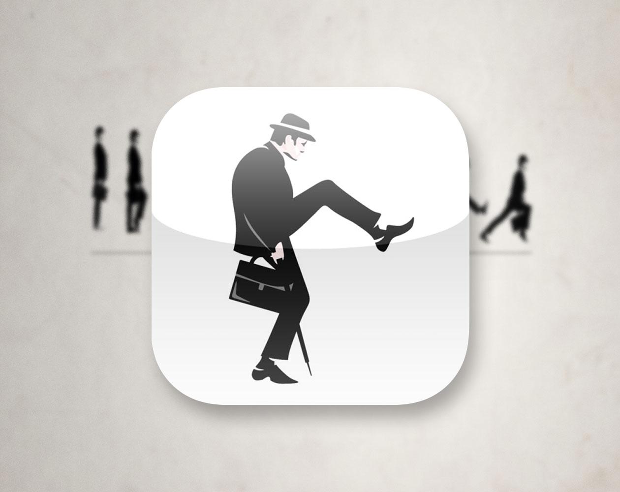 "Monty Python's The Ministry of Silly Walks для iOS — станьте ""министром глупых походок"""