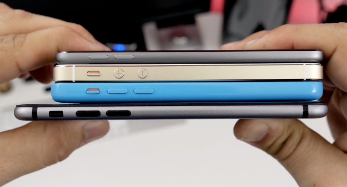 2 новых модели iPhone «засветились» в Таиланде