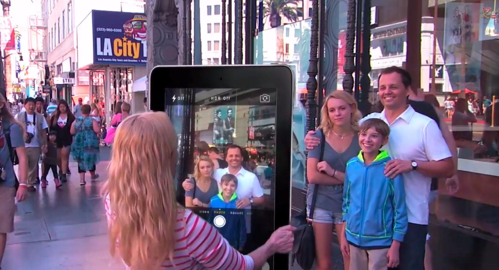 Джимми Киммел посмеялся над 12,9-дюймовым iPad Pro