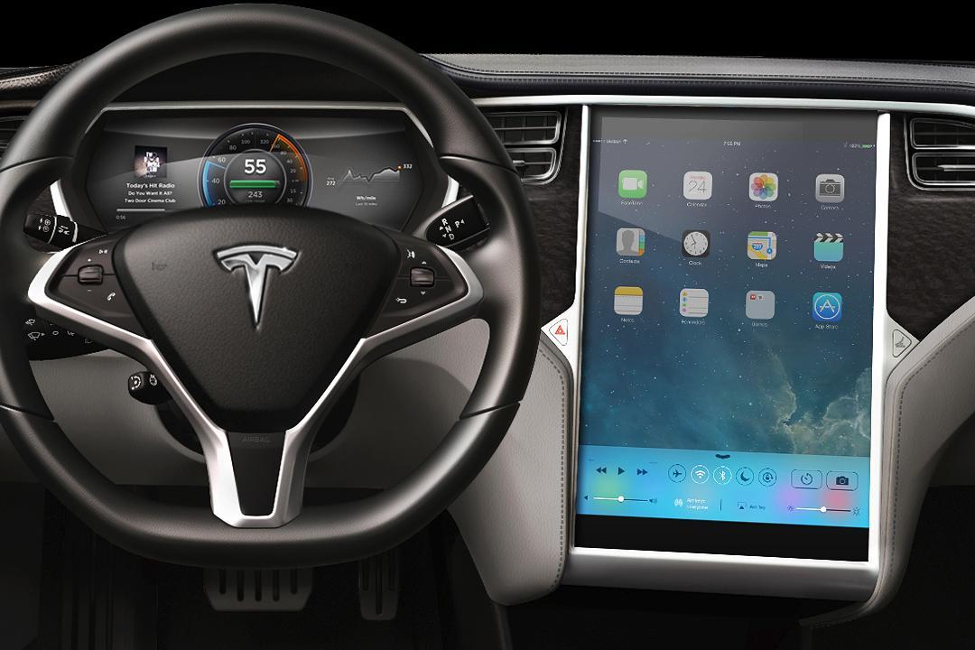 Электрокары Tesla получат большую интеграцию с iOS-устройствами