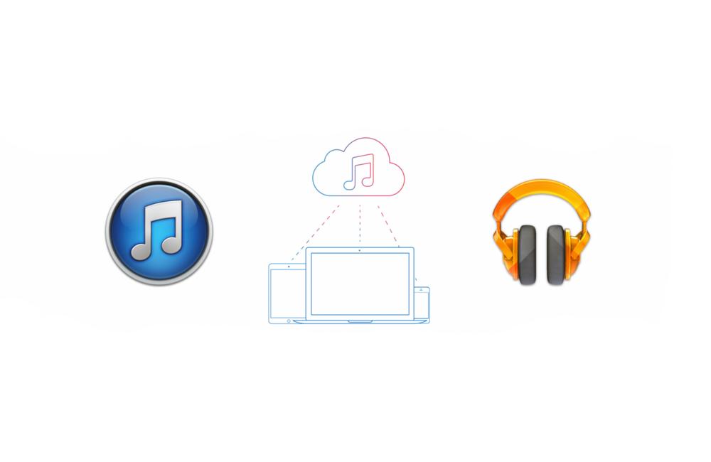 Что выбрать: iTunes Match или Google Music