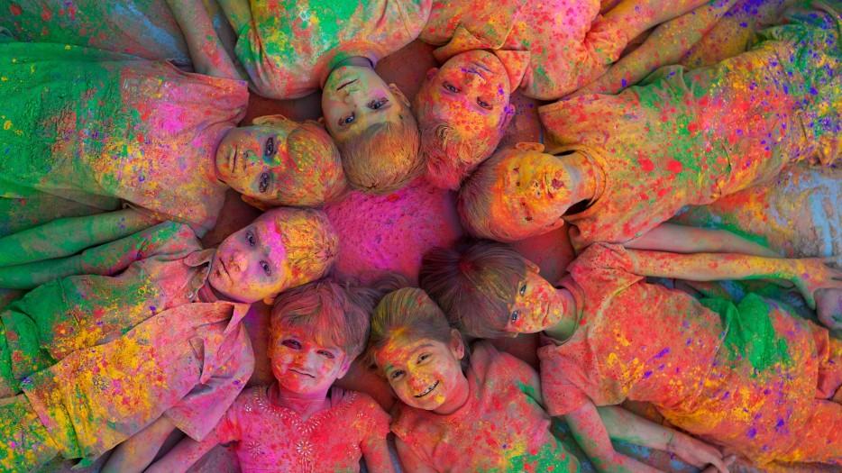 Красок холи своими руками в домашних условиях