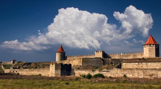 Бендерская крепость в Молдове