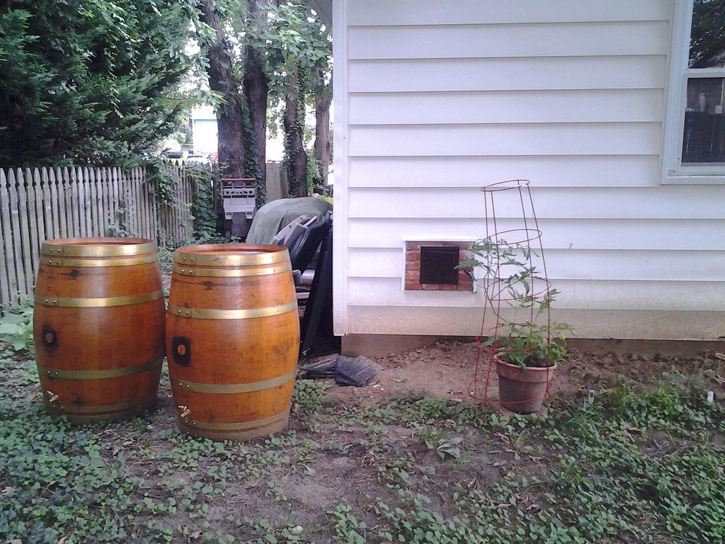 Винтажный фильтр для очистки дождевой воды