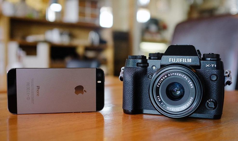 Может ли iPhone заменить профессиональную фотокамеру