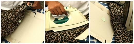 Удаляем жвачку с одежды при помощи утюга
