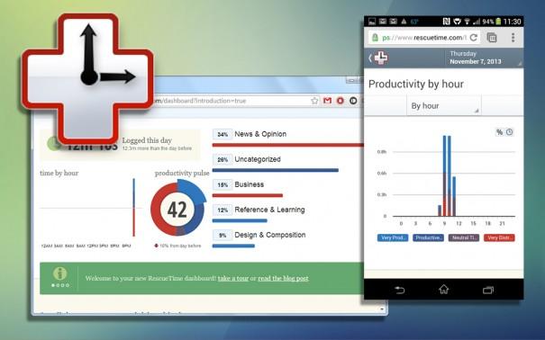 RescueTime — кроссплатформенный учёт времени и продуктивности