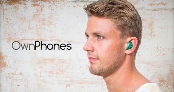 OwnPhones — идеальные наушники для любого уха