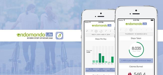 Если у вас для бега Endomondo, то для подсчёта шагов — Life