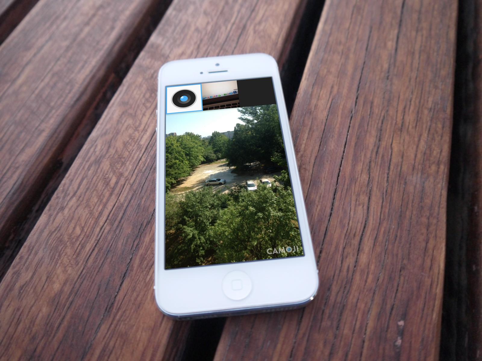 Camoji для iPhone помогает быстро создавать гифки и делиться ими с друзьями