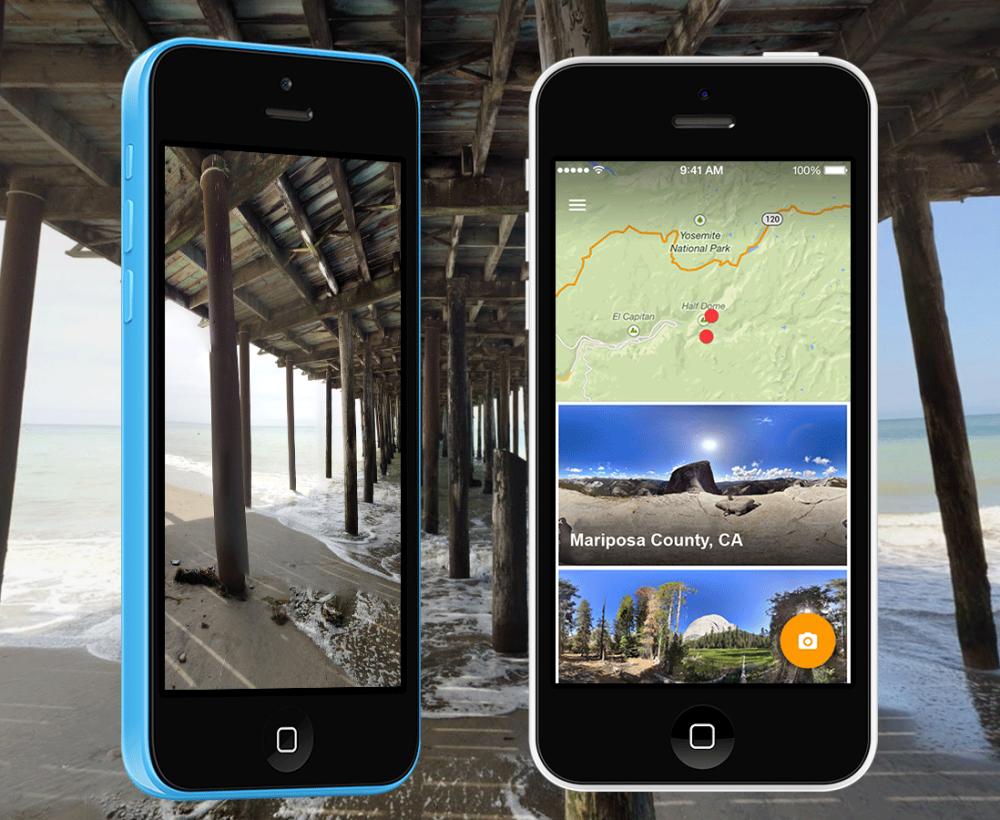 Photo Sphere Camera для iPhone — делаем 3D панорамы вместе с Google