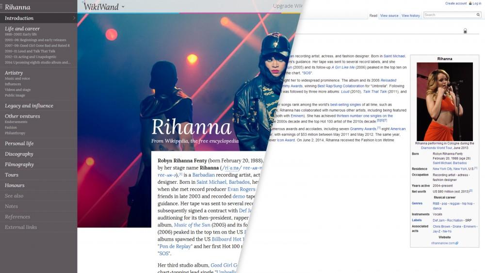 WikiWand —расширение, которое преобразит «Википедию»