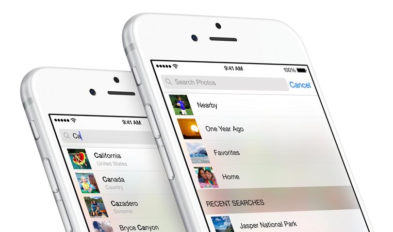 Как пользоваться новым поиском фотографий на iOS 8