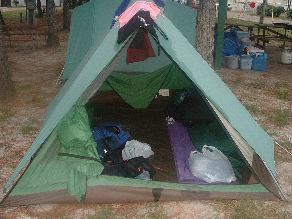 Палатка «домик»