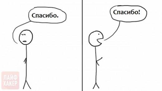 разница в эмоциях