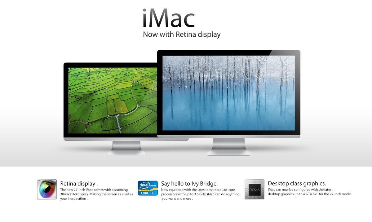 iMac Retina получат поддержку DisplayPort 1.3