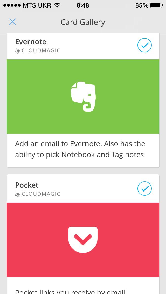 Evernote и Pocket