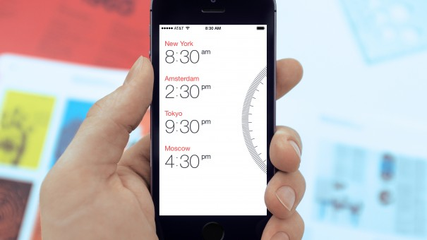 Miranda для iPhone позволит разобраться с часовыми поясами