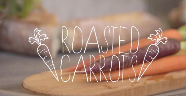 РЕЦЕПТЫ: Запечёная морковь, чипсы из листьев салата и летний салат