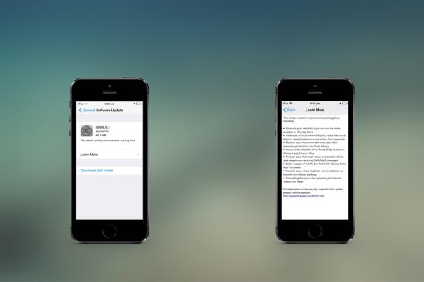 Почему не нужно обновляться до iOS 8.0.1