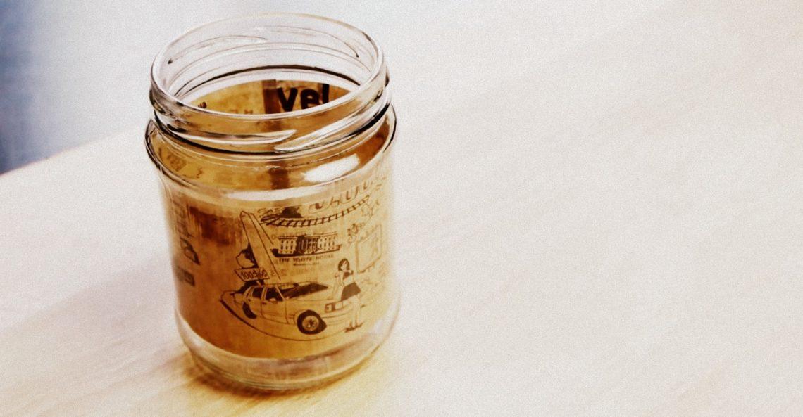 ВИДЕО: Как заламинировать стеклянную банку вдомашних условиях
