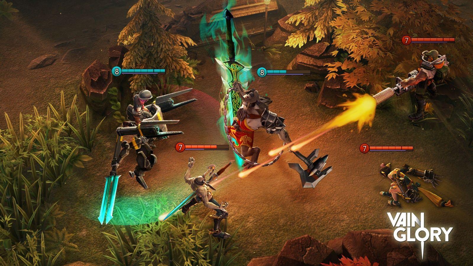 Vainglory — игра для iOS от создателей Diablo и GTA