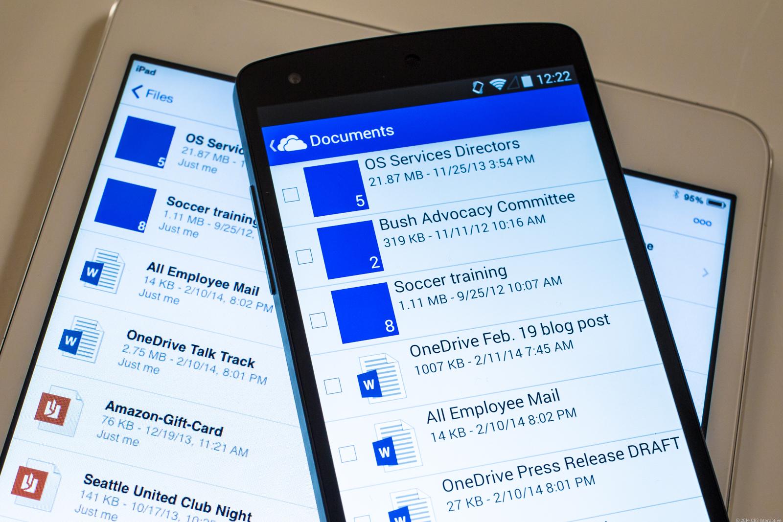 Пользователи iPhone могут бесплатно получить 30 ГБ в облаке OneDrive