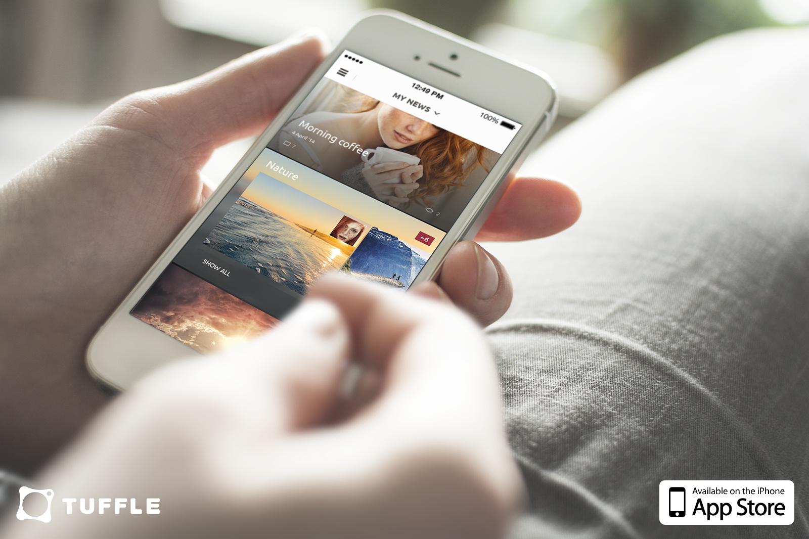 Приложение Tuffle — социальная сеть воспоминаний