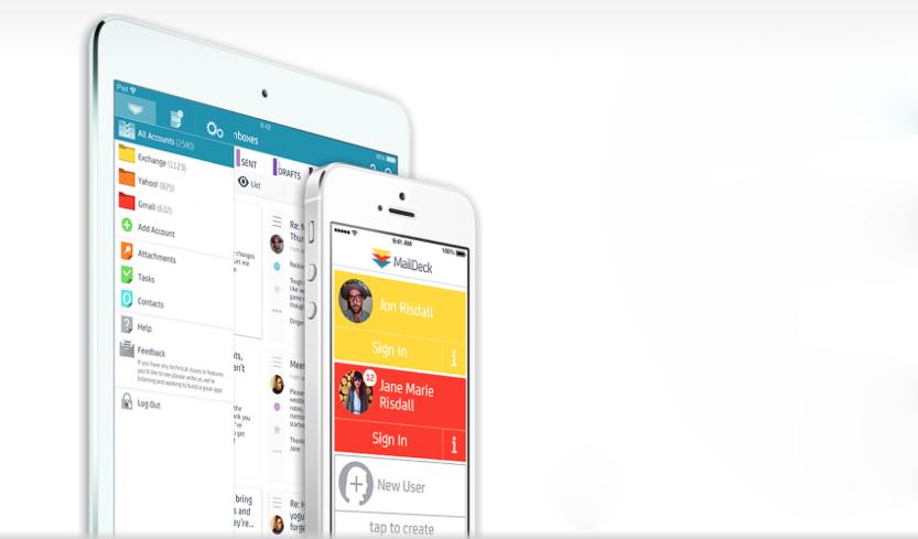 MailDeck — почтовый клиент для iOS в стиле Tweetdeck