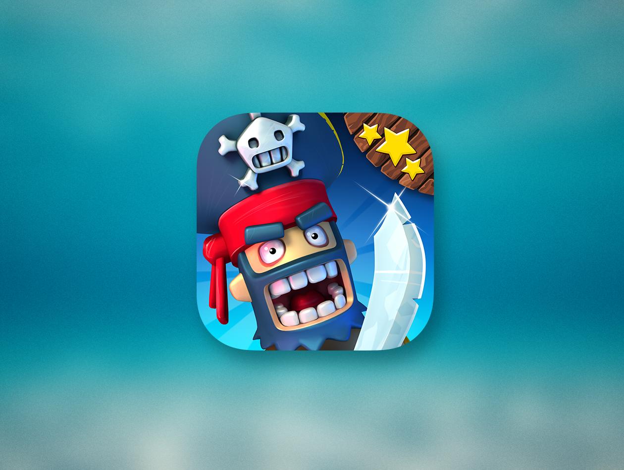 Plunder Pirates для iOS — одна из первых игр, поддерживающих Metal