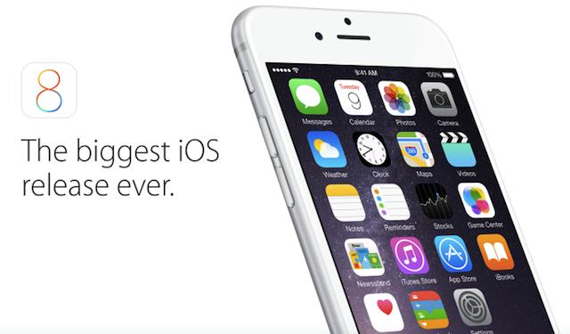 iOS 8 получит 3 крупных обновления в ближайшие месяцы