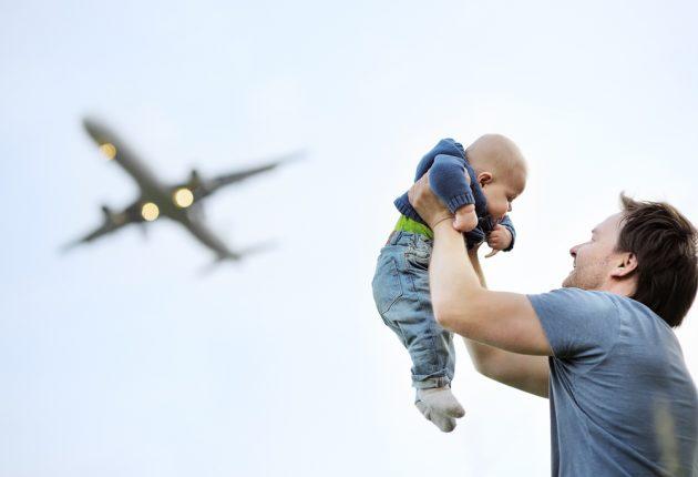 Авиаперелёты с младенцем