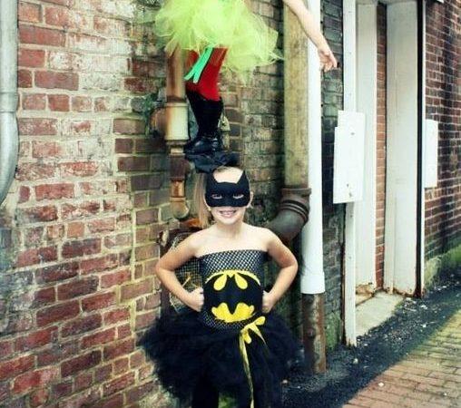 Костюмы на Хэллоуин. Бэтмен и Робин