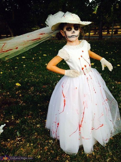 Костюмы на Хэллоуин. Труп невесты
