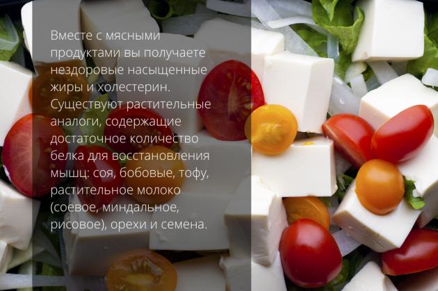 вегетарианство тофу