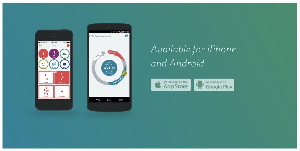 Мобильное приложение Clue — личный календарь и помощник женщин вотслеживаниицикла