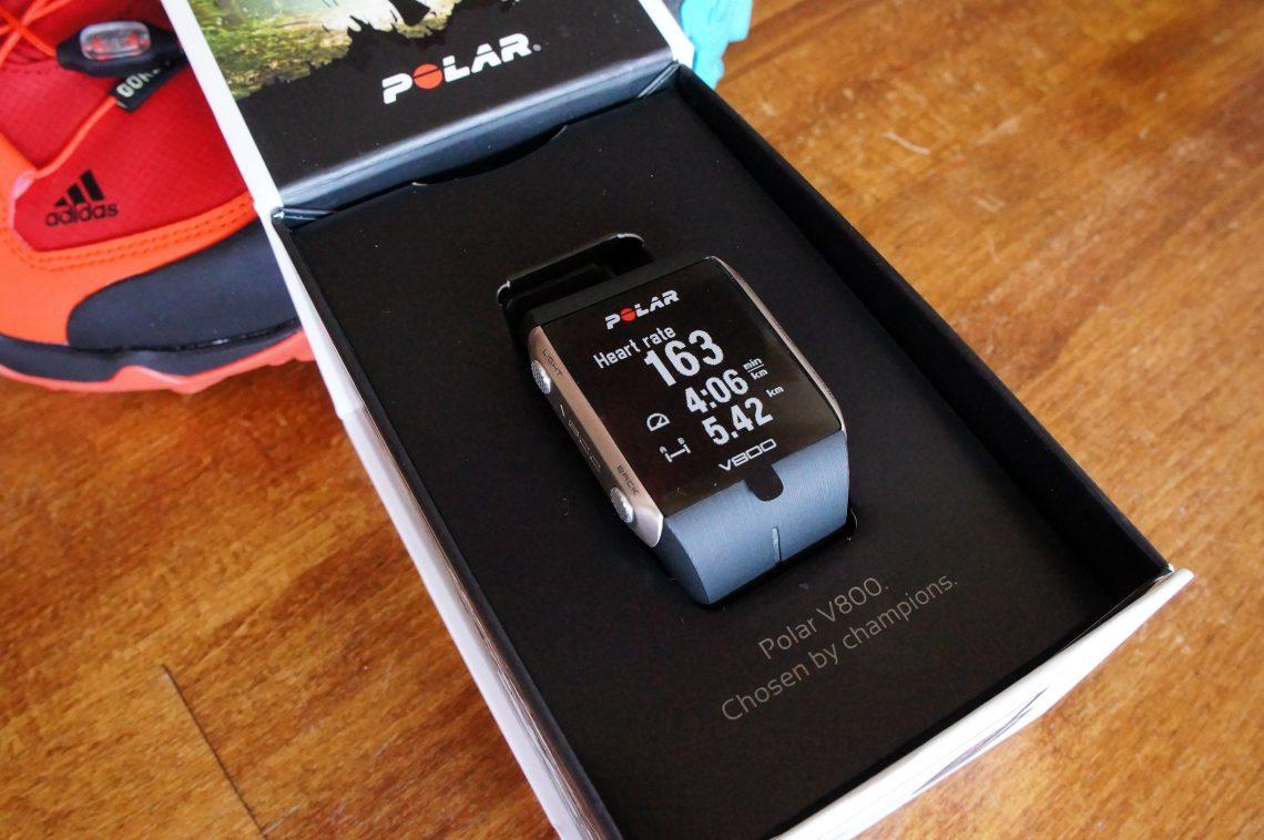 ОБЗОР: GPS-часы Polar V800 для бега и триатлона