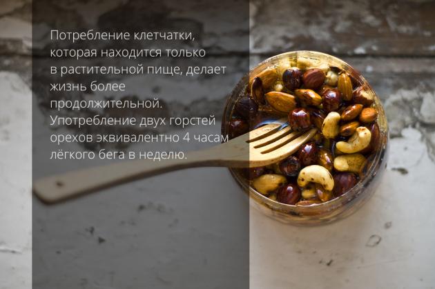 вегетарианство орехи