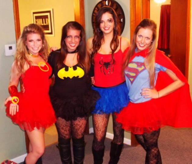 Костюмы на Хэллоуин. Супергерои