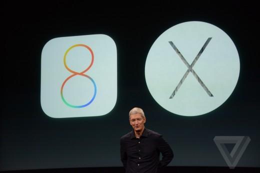iOS 8.1 в понедельник, OS X Yosemite сегодня