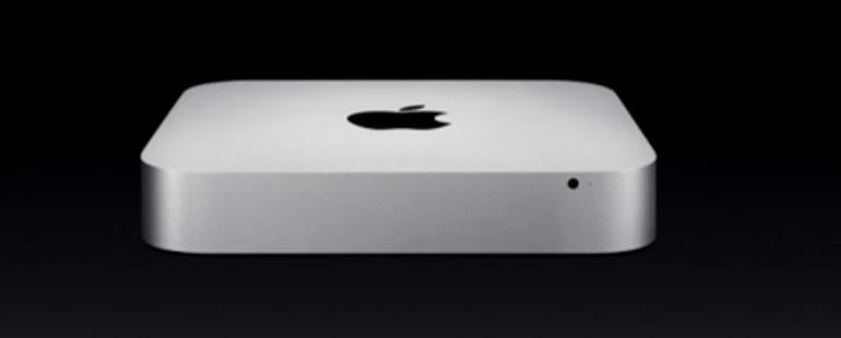 Apple представила обновленные Mac mini
