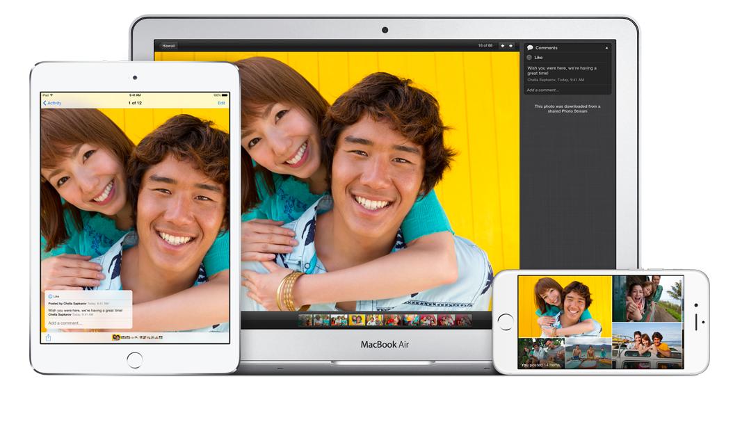 Что такое iCloud Photo Library