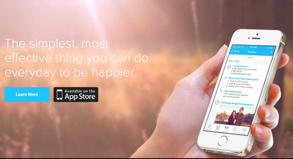 5 Min Journal для iPhone:начните день с приятных эмоций