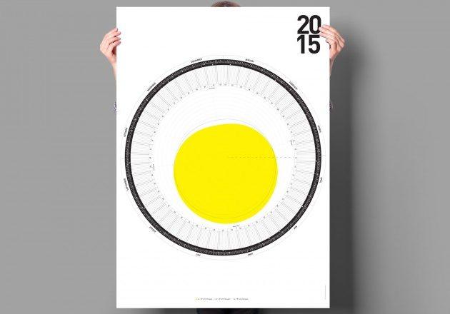 Календарь с солнечным кругом