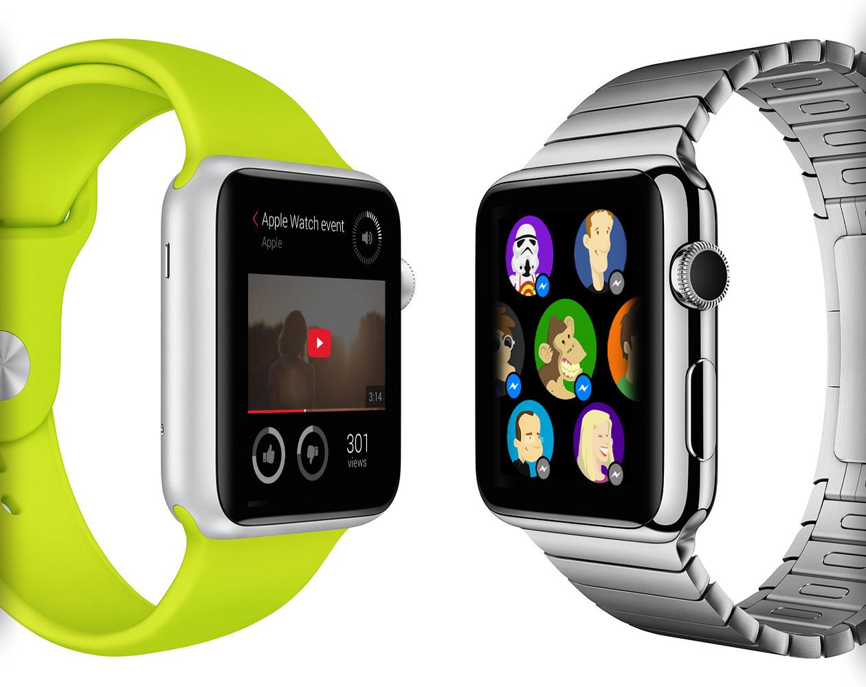 Apple Watch: Как будут выглядеть популярные iOS-программы на вашем запястье