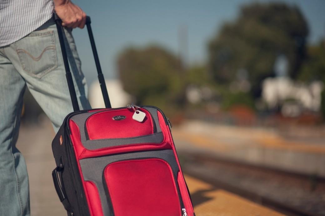 Tile на багаже