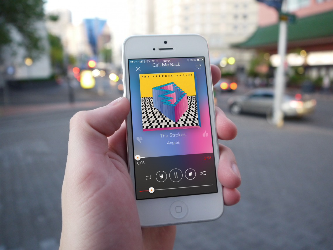 gMusic2 для iOS — лучший плеер дляGoogleMusic