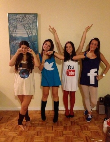 Instagram, Twitter, Youtube и Facebook