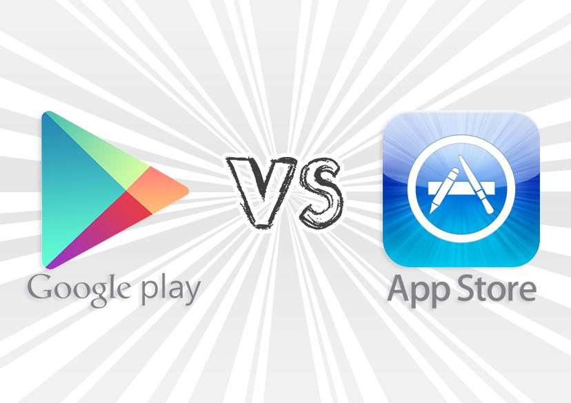 Google Play опередил App Store в количестве загрузок, но проиграл в прибыли